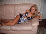 Gorgeous blonde MILF sexy lingerie topless sun kissed sunbathing