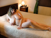 French sexy milf with big natural tits loves sex