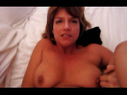 Mature wife anal fuck orgasm while pressing vibe on clit