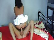 Watch bitch get fucked really good on her birthday